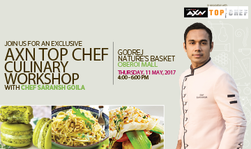COOKING WITH CHEF SARANSH GOILA